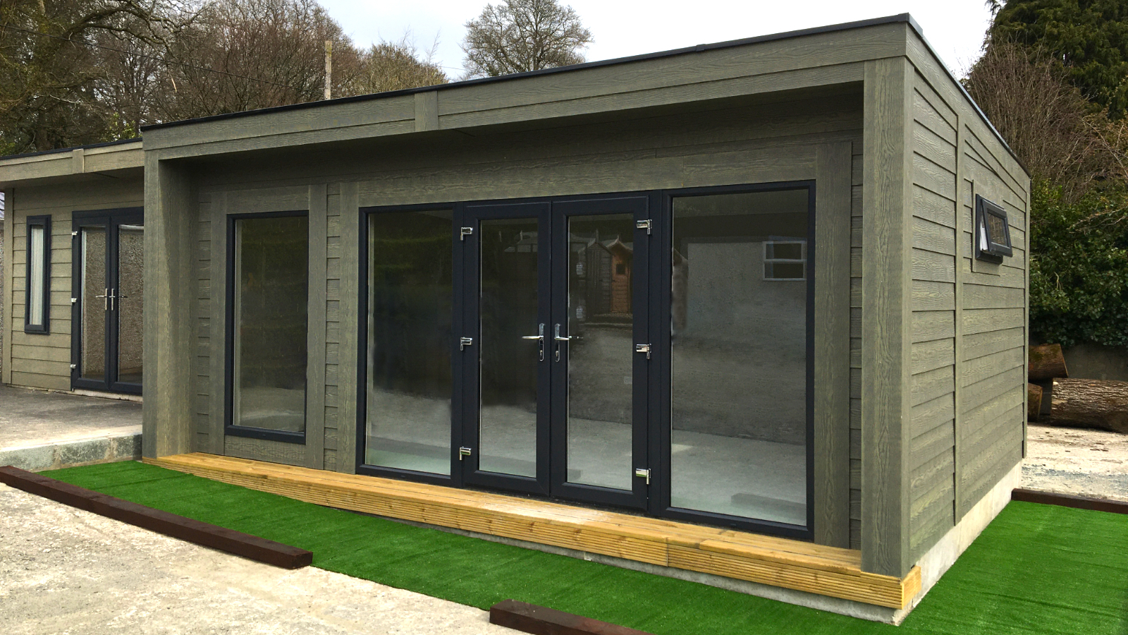 Duraboard Garden Room Outside Garden Office Room Space Double Doors Windows, Extra Room, Teenage Den, Therapy Room, Office Space, Guest Room